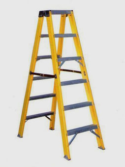 Trestle / Double Sided Total FRP Step Ladder
