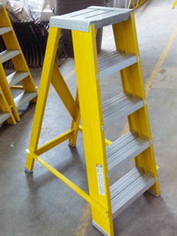 Stool Type Total FRP Step Ladder